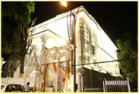 Exclusive use of LED lights for mandir decoration
